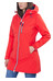 Helly Hansen Long Belfast Jas Dames rood